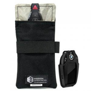 Mission Darkness Faraday Bag for Key Fobs